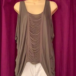Very Pretty Olive Green Top